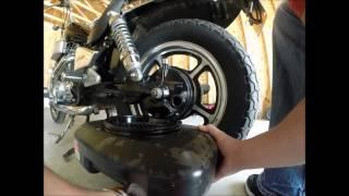 Honda Shadow Drive Shaft Oil Change