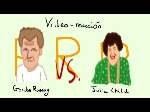 LE HA DEJADO MAL!   Gordon Ramsay vs. Julia Child   Video-Reacción