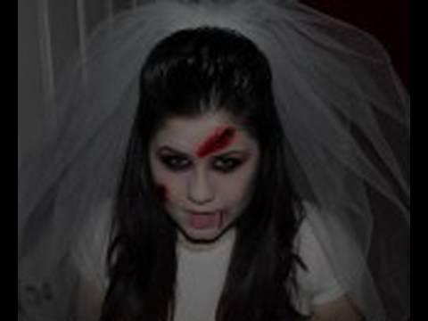 Halloween Makeup : Dead Bride - YouTube