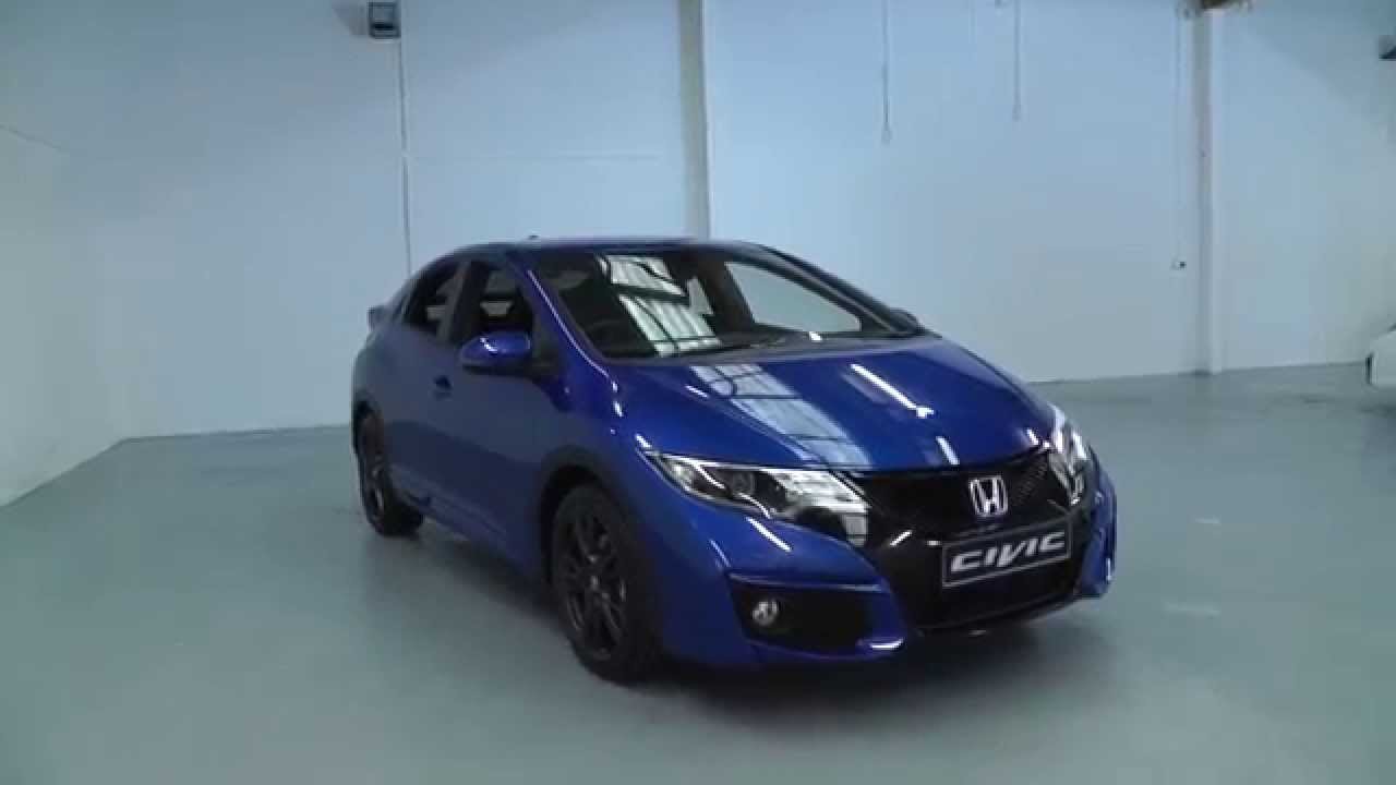 Brand New 2015 Honda Civic 16 Sport In Brilliant Sporty Blue Youtube Jazz Rs