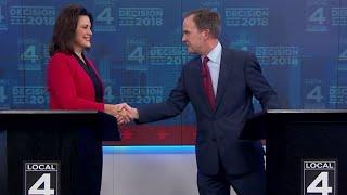 FULL DEBATE: Gubernatorial candidates Schuette, Whitmer face off in debate