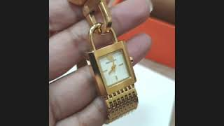 REVIEW:Toryburch Surrey Watch GOLD