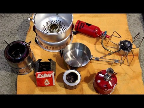 Ultimate Backpacking Stove Boil Times Comparison: MSR, Alcohol Stoves, Wood Gasifier, ESBIT