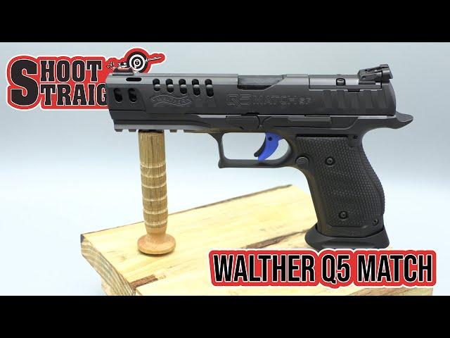Walther Q5 Match Steel Frame Pro Spotlight
