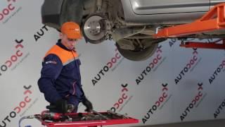 Montáž zadné a predné Rameno Zavesenia Kolies VW TOURAN: video príručky