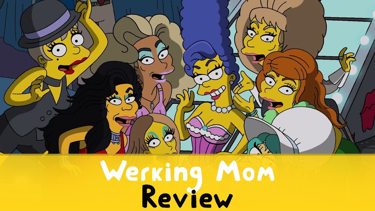 the simpsons s30e07 werking mom review youtube