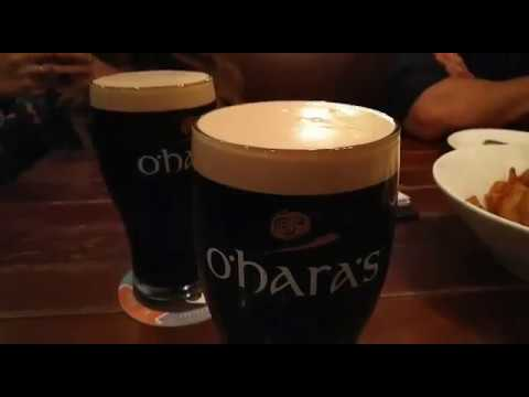 Oharas Irish Stout available in Globe Bar, Central, Hong Kong