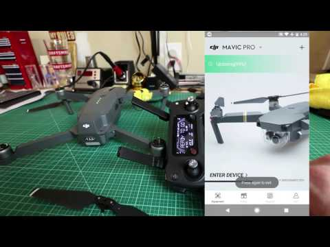 DJI Mavic Pro Firmware Update Tutorial with DJI Go App