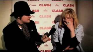 Courtney Love - Interview at Clash's issue 50 party