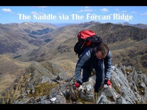 The Saddle via The Forcan Ridge