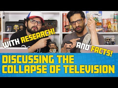 Discussing the COLLAPSE OF TV-- (With Research!!)