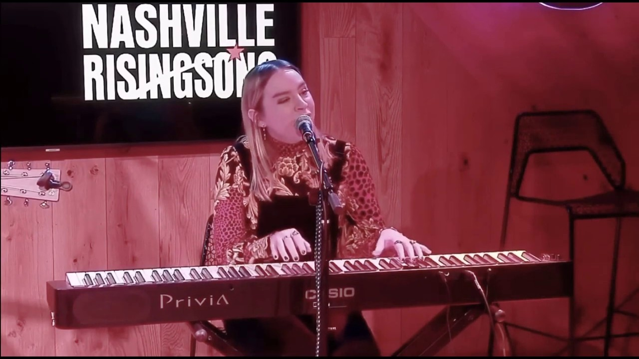 Alyssa Lazar - The One He Told You Not to Worry About (Live at Nashville Rising Song) - YouTube