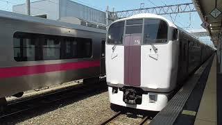 JR青森駅 215系 甲種輸送 到着【EF81形】 2021.05.25