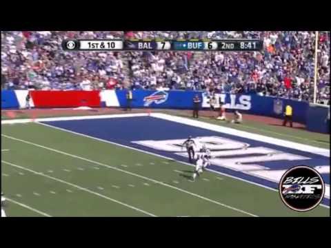 EJ Manuel 50 Yard Touchdown Pass To Robert Woods Highlights Buffalo Bills