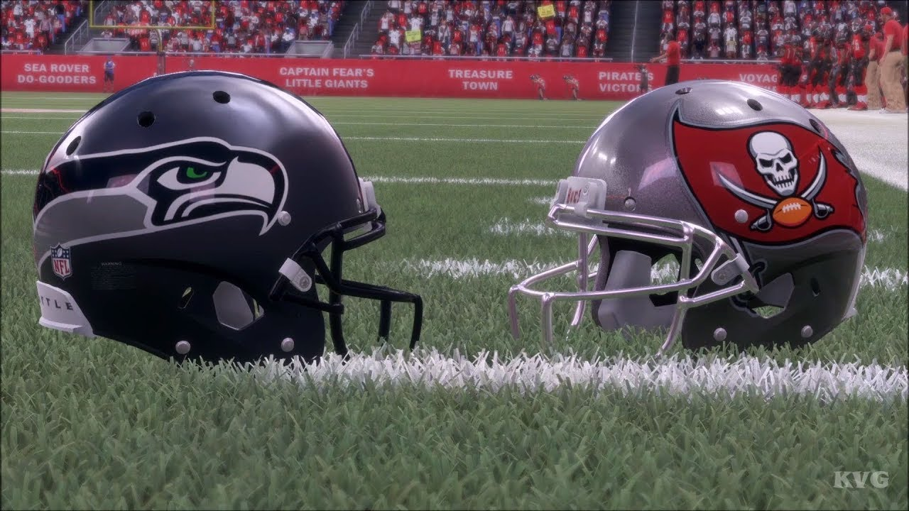 Madden NFL 18 - Tampa Bay Buccaneers vs Seattle Seahawks - Gameplay (HD)   1080p60FPS  42b7f93cea4