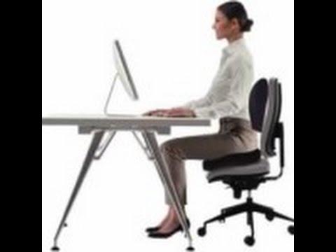Como trabajar Cómodo en la Oficina - Cojín Silla Oficina, Asiento ...