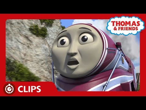 Caitlin's Brakes Break | Start Your Engines! | Thomas & Friends