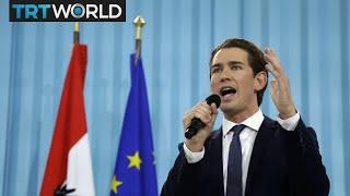 TRT World's Iolo ap Dafydd is in Vienna, and he says Sebastian Kurz...