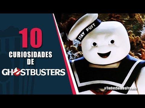 10 Curiosidades de Ghostbusters | Canal Freak