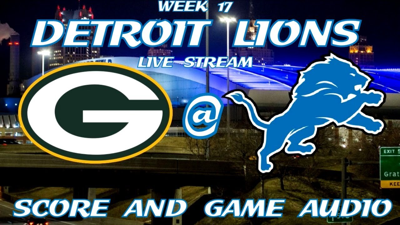 How to watch the Detroit Lions vs the Green Bay Packers in Week 17