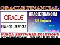 Oracle Finacial||online training||P2P lifecycle Part-6 by SaiRam