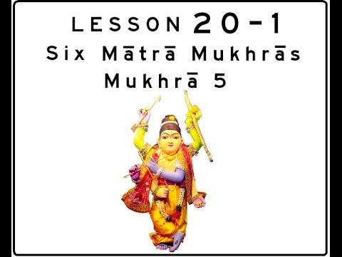 Khol (Mridanga) Lesson 20 Part 1 of 5: Six Mātrā Mukhrās: Mukhrā 5