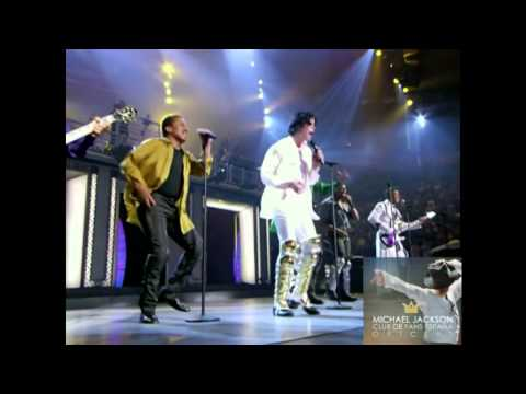THE JACKSONS & N'SYNC - DANCING MACHINE ( LIVE MADISON SQUARE GARDEN 10/01/2001 )