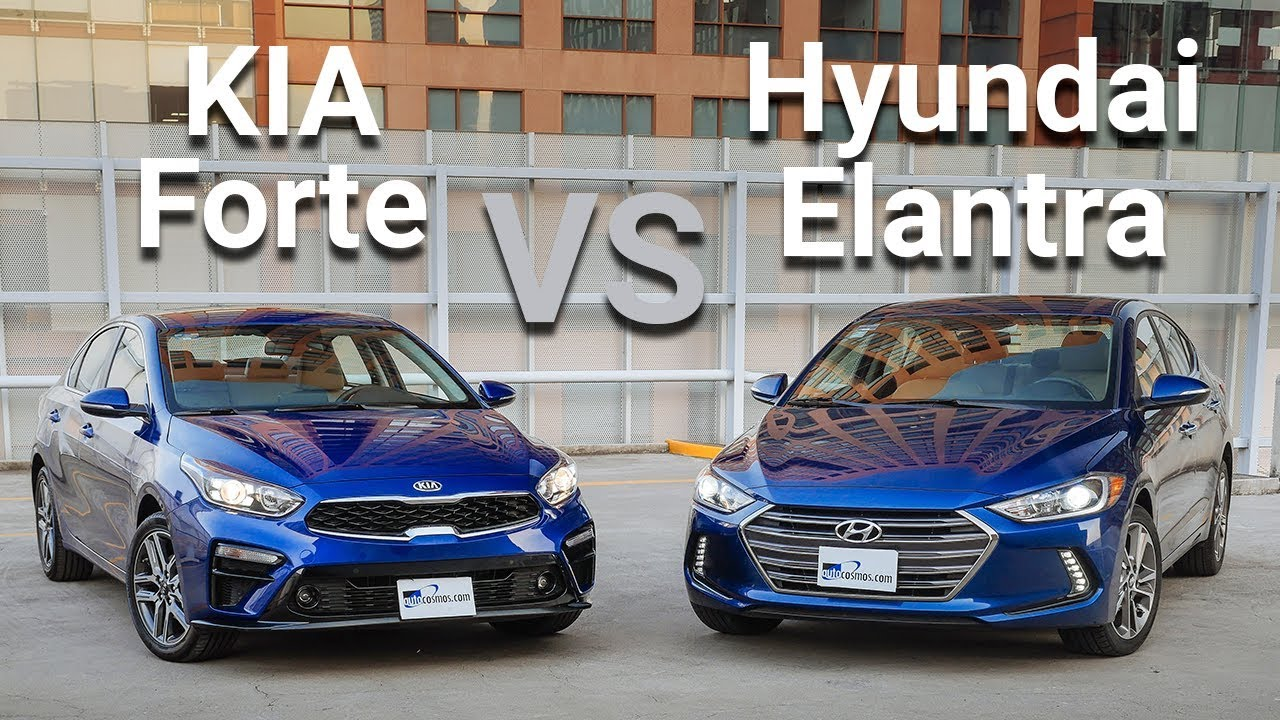kia forte vs hyundai elantra frente a frente youtube. Black Bedroom Furniture Sets. Home Design Ideas