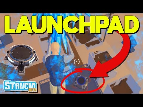 *NEW* LAUNCH PAD Is OP In Strucid (Roblox)