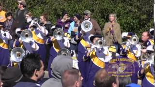 Marching Leathernecks in Homecoming Parade 2014