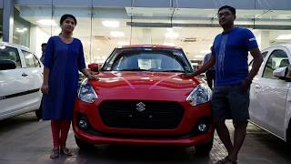 Taking Delivery of All New Maruti Suzuki Swift|Documentation to Delivery|Exterior and Interior