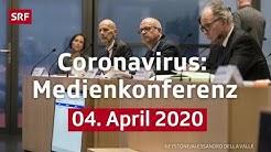 Medienkonferenz Coronavirus - Live - 04. April 2020 14:00 | SRF News