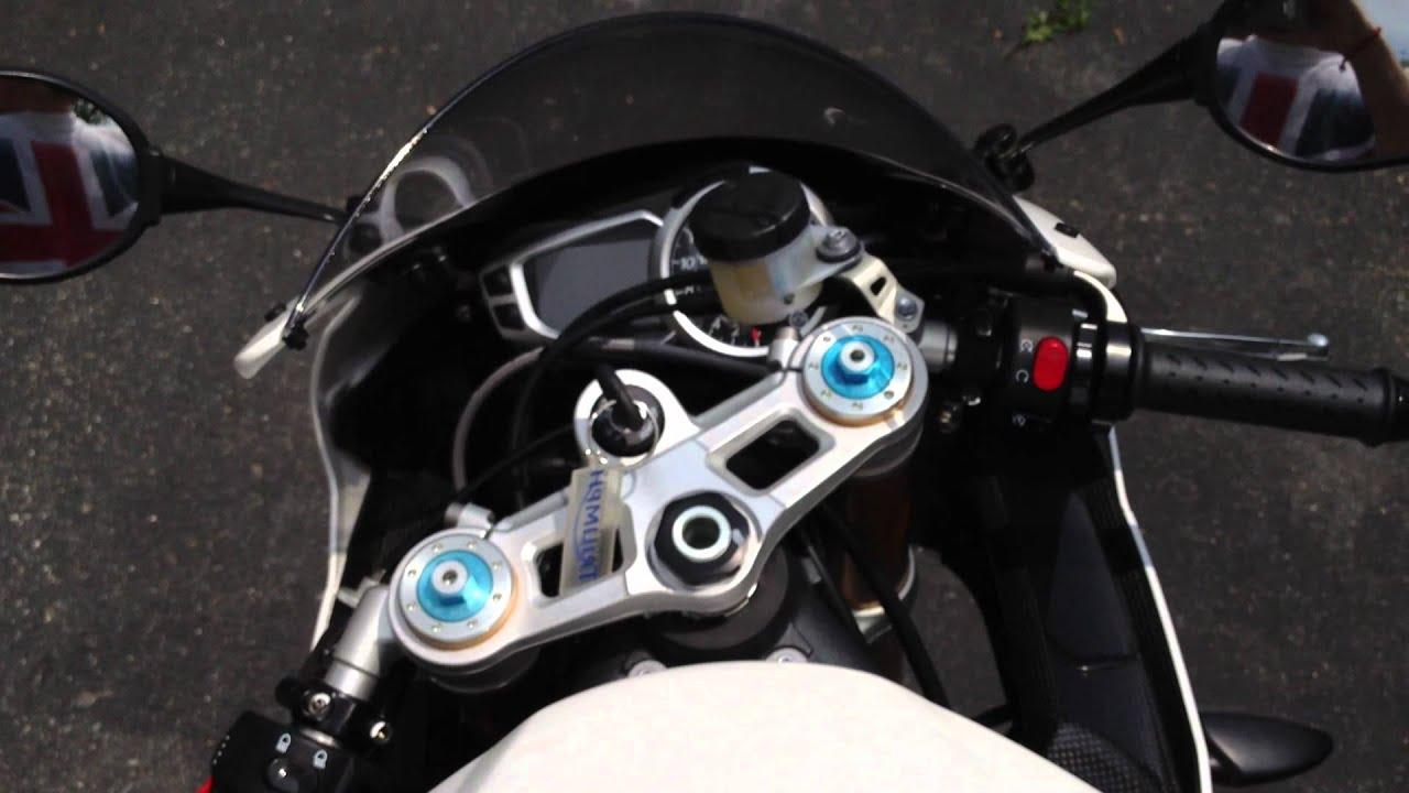2012 Triumph Daytona 675R (HD) - YouTube