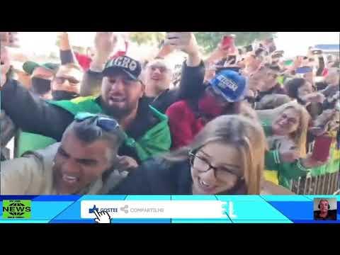 """Bolsonaro é ovacionado por milhares de apoiadores no MS: """"Mito!"""""""
