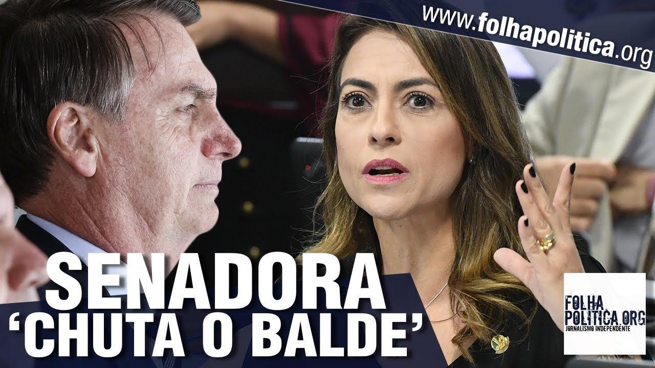 Senadora do partido de Bolsonaro 'chuta o balde' e abre o jogo sobre a Câmara: 'Estão