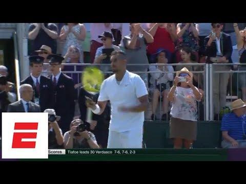 Nick Kyrgios beats Denis Istomin at Wimbledon 2018 [highlights/analysis/presser] | ESPN