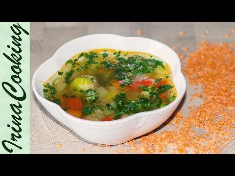 Суп с чечевицей и свининой