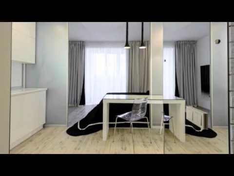 Дизайн кухни и спальни в одной комнате