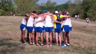 Spalding University  Cross Country 2011 Franklin Invite