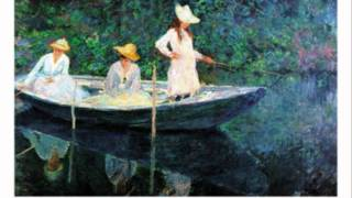The Fish - Elizabeth Bishop (with Claude Monet)