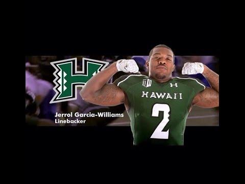 Jerrol Garcia-Williams ll University Of Hawaii LB ll Career Highlight Mix