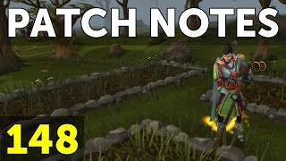 RuneScape Patch Notes #148 - 28th November 2016