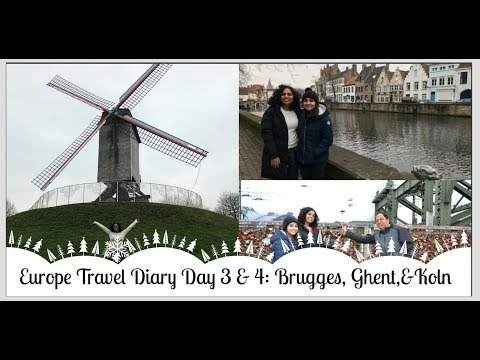 Europe Travel Diary: Brugges, Ghent, Koln