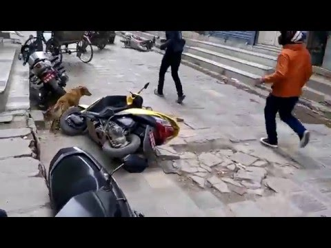 nepal earthquake main shock 2015 april 25 (hot chilli restaurant)
