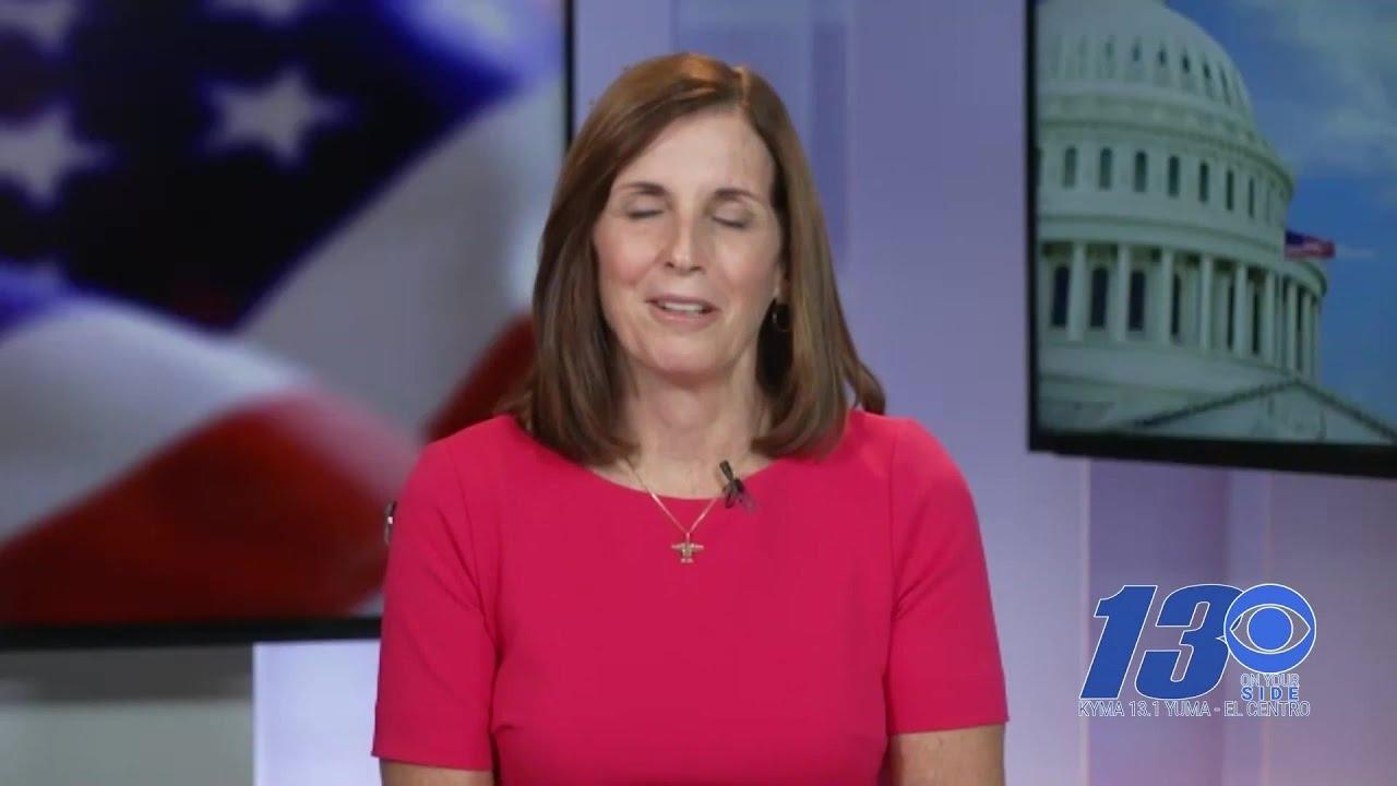 Martha McSally, Mark Kelly clash in only Senate debate
