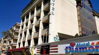 Diamore 3 Диаморе отель Аланья Турция обзор отеля все включено территория