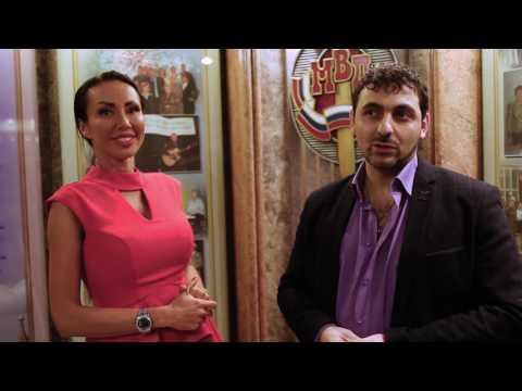Тигран Гарибян твоческий вечер певицы Юлии Альбах репортаж Натальи Роз