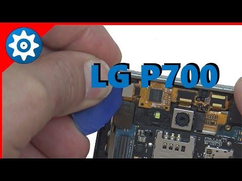 Troca de ecra do | LG Optimus L7 P700 | Screen Replacement.