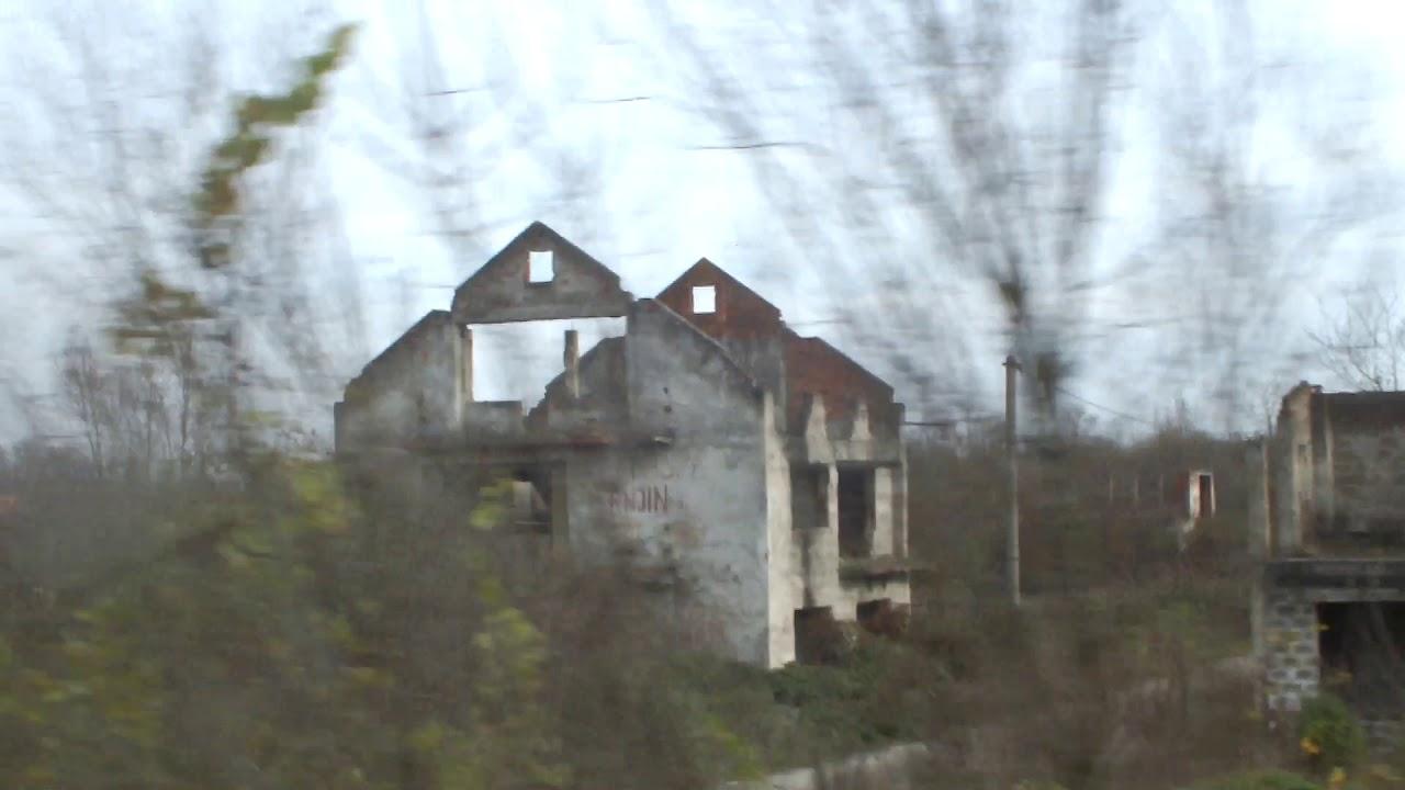 Босния и Герцеговина разбитые дома