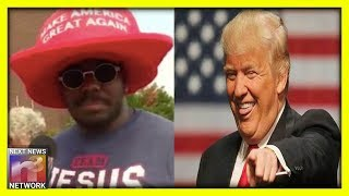 Black Trump Supporter TROLLS Libs With Hat They'll HATE